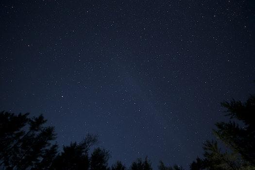 Kostenloses Stock Foto zu himmel, nacht, sterne, schwarze hintergrundbilder