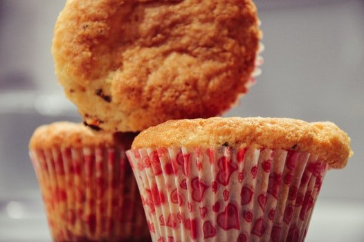 Macro Photo of Cupcake