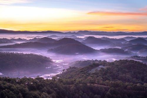 Kostenloses Stock Foto zu 4k hintergrund, abend, berg