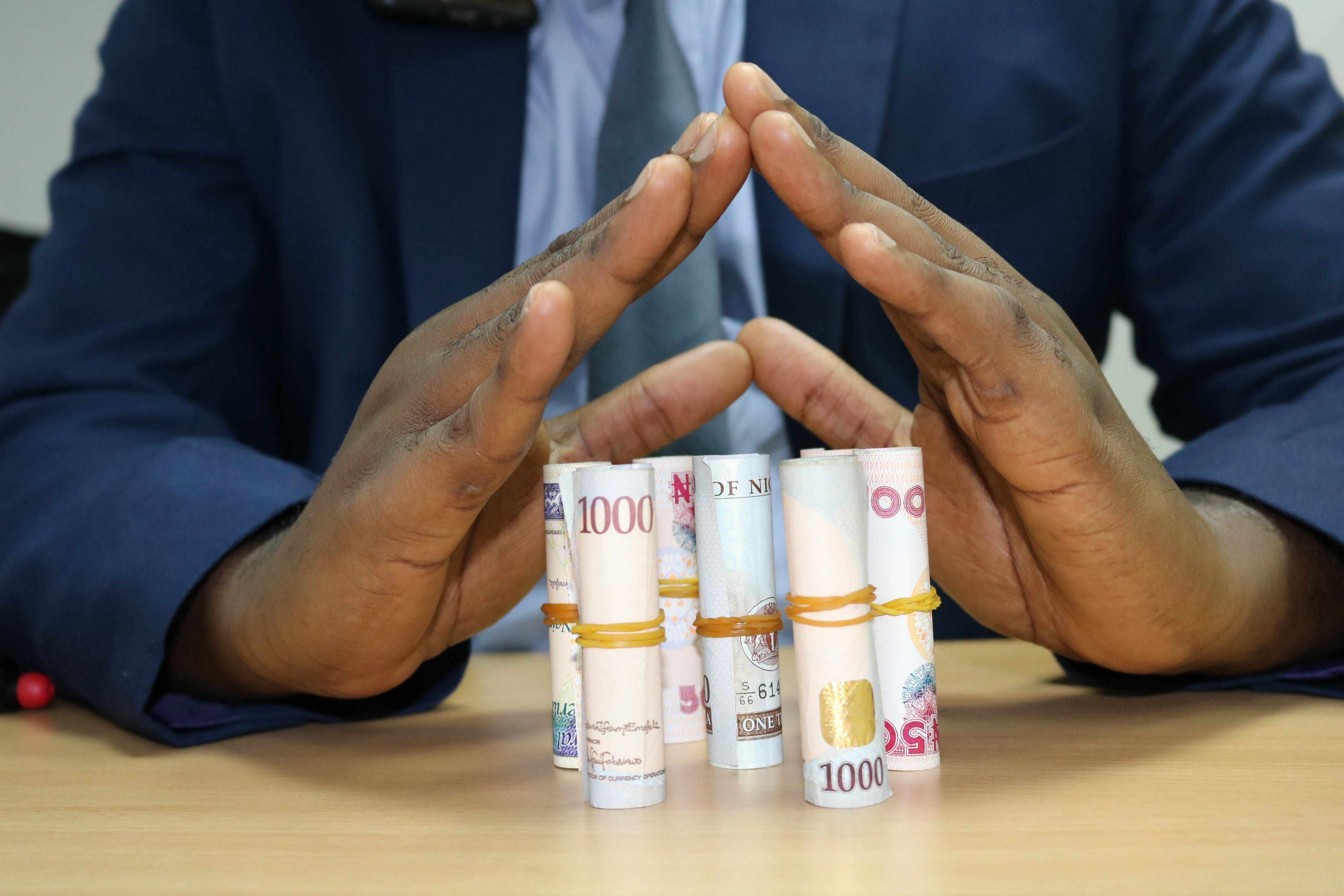 Free stock photo of protected Nigerian currency