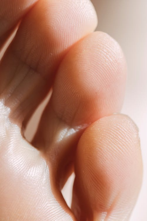 Close-Up Shot of a Person's Toes