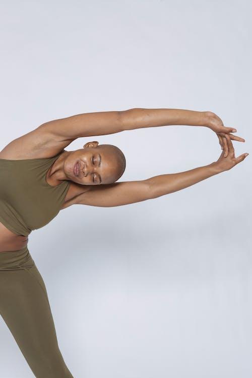 Gratis stockfoto met activewear, activiteit, Afro-Amerikaanse vrouw