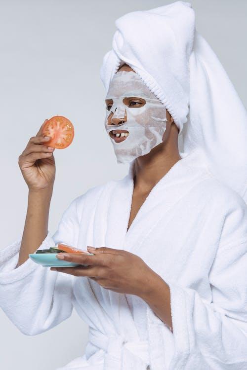 Immagine gratuita di accappatoio, applicare, asciugamano