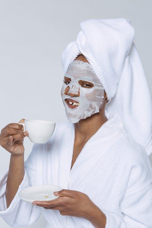 Gratis lagerfoto af afroamerikansk kvinde, anti aldring, ark