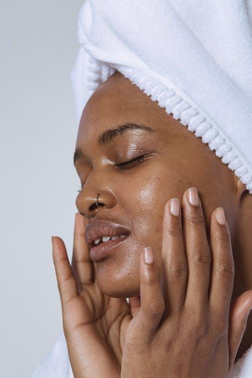 アフリカ系アメリカ人女性, エスニック, スキンケアの無料の写真素材