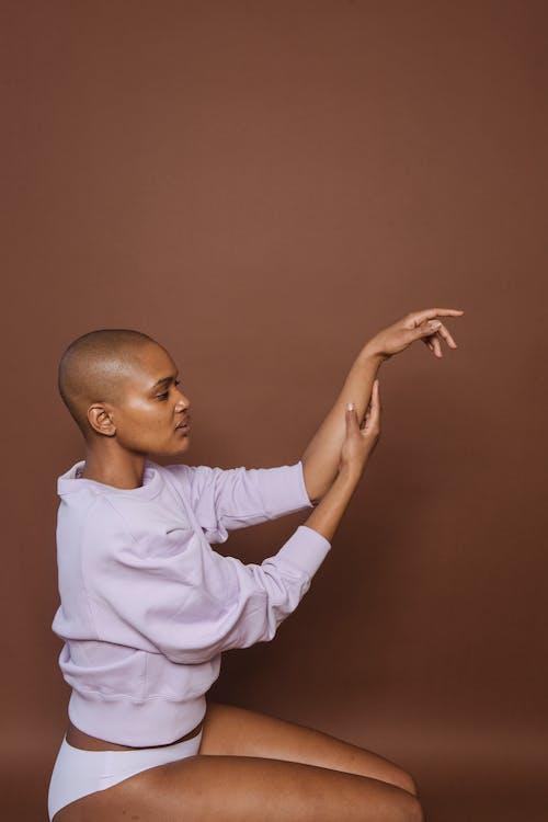 アフリカ系アメリカ人女性, エスニック, カジュアルの無料の写真素材