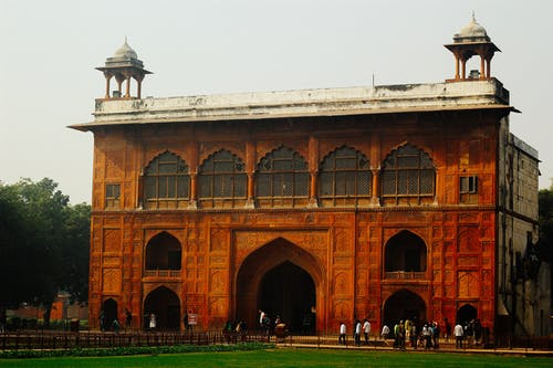 Free stock photo of architectural design, delhi, fort