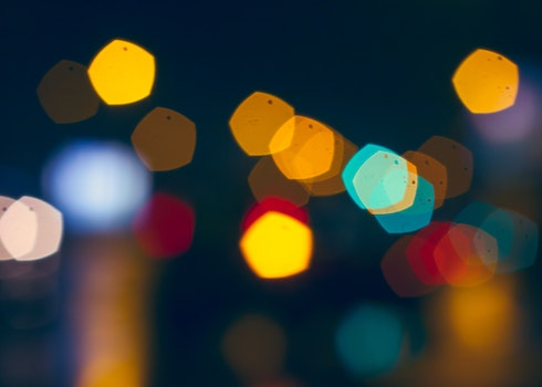 Free stock photo of light, night, abstract, colors