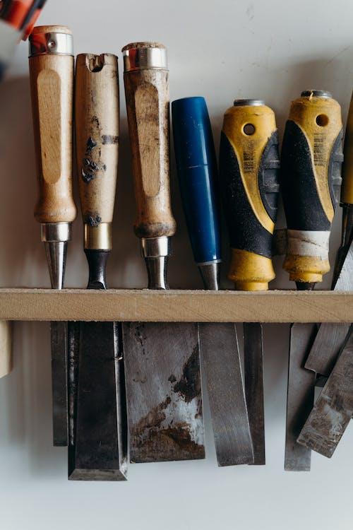 Black and Yellow Handle Tool