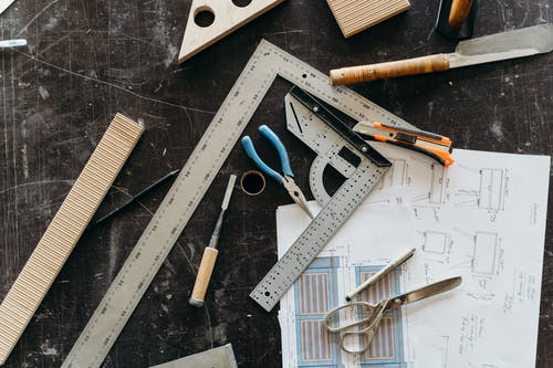 Flatlay, 儀器, 剪刀 的 免費圖庫相片
