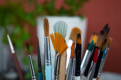 Free stock photo of brushes, paintbrushes, watercolor
