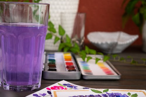 Free stock photo of watercolor painting, watercolors