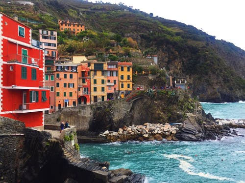Free stock photo of cinque terre, color, colorful houses, italy