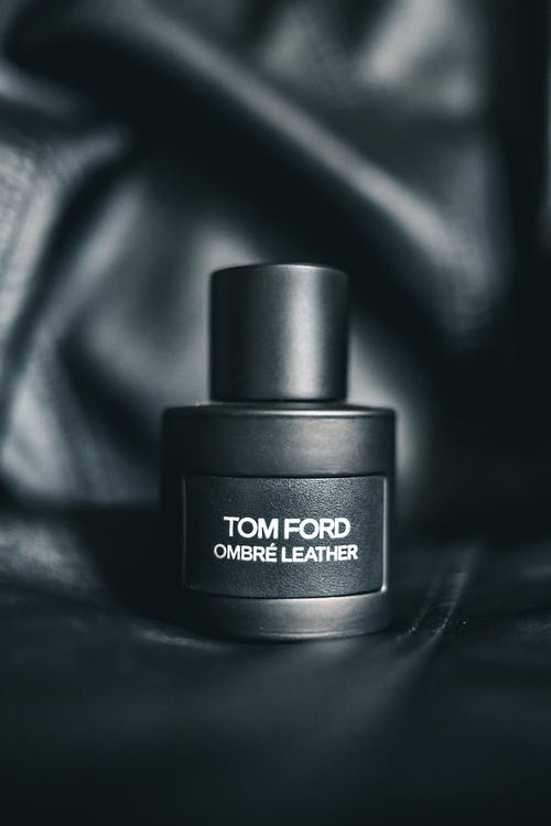 Cosmetic product on black background