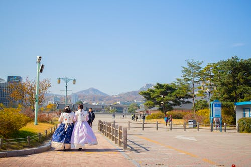 Free stock photo of Gyeongbokgung, hanbok, South Korea