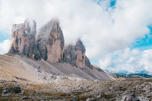 Foto stok gratis awan, bagus, batu, cantik