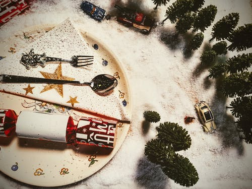 Ilmainen kuvapankkikuva tunnisteilla autot, haarukka, joulu, juhla