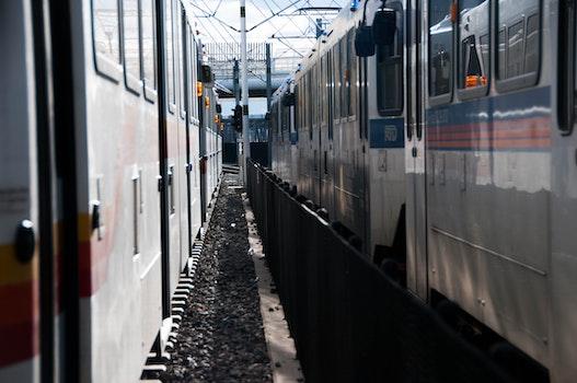 Free stock photo of city, traffic, train, blur