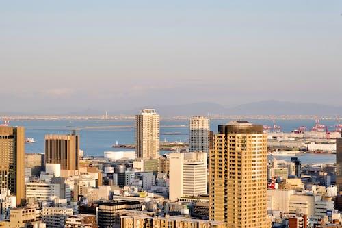 City Skyline On A Bright Day
