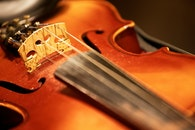 night, violin, strings