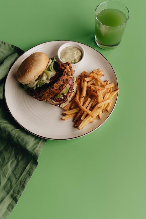 Základová fotografie zdarma na téma bulka, burger, chleba