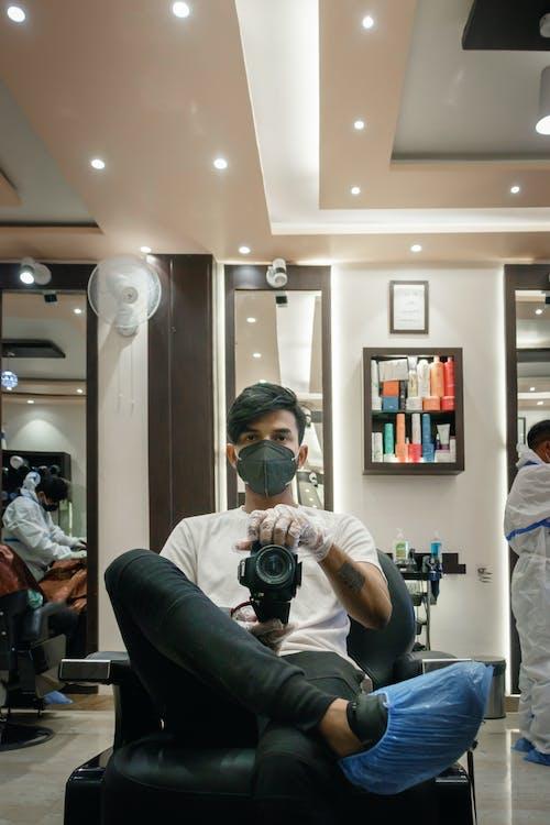 covid 19照片, 剪頭髮, 新常態 的 免費圖庫相片