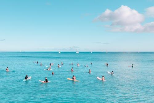 Immagine gratuita di acqua, cielo sereno, estate