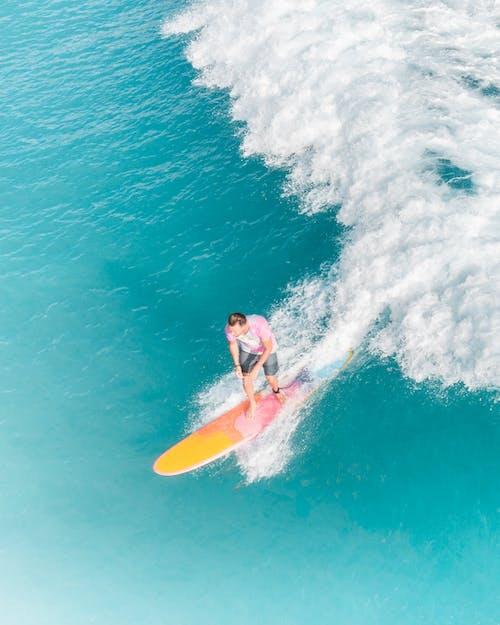 Gratis arkivbilde med bølger, hav, person