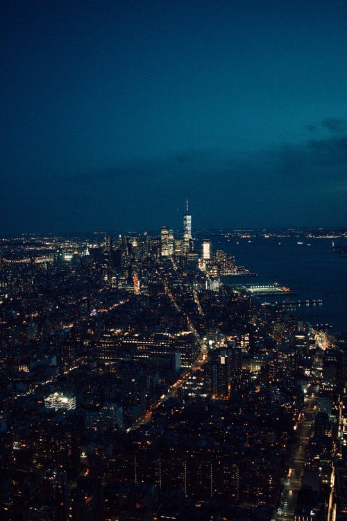Free stock photo of bluehours, city, dark