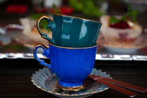 Free stock photo of ceramic cups, coffee cups