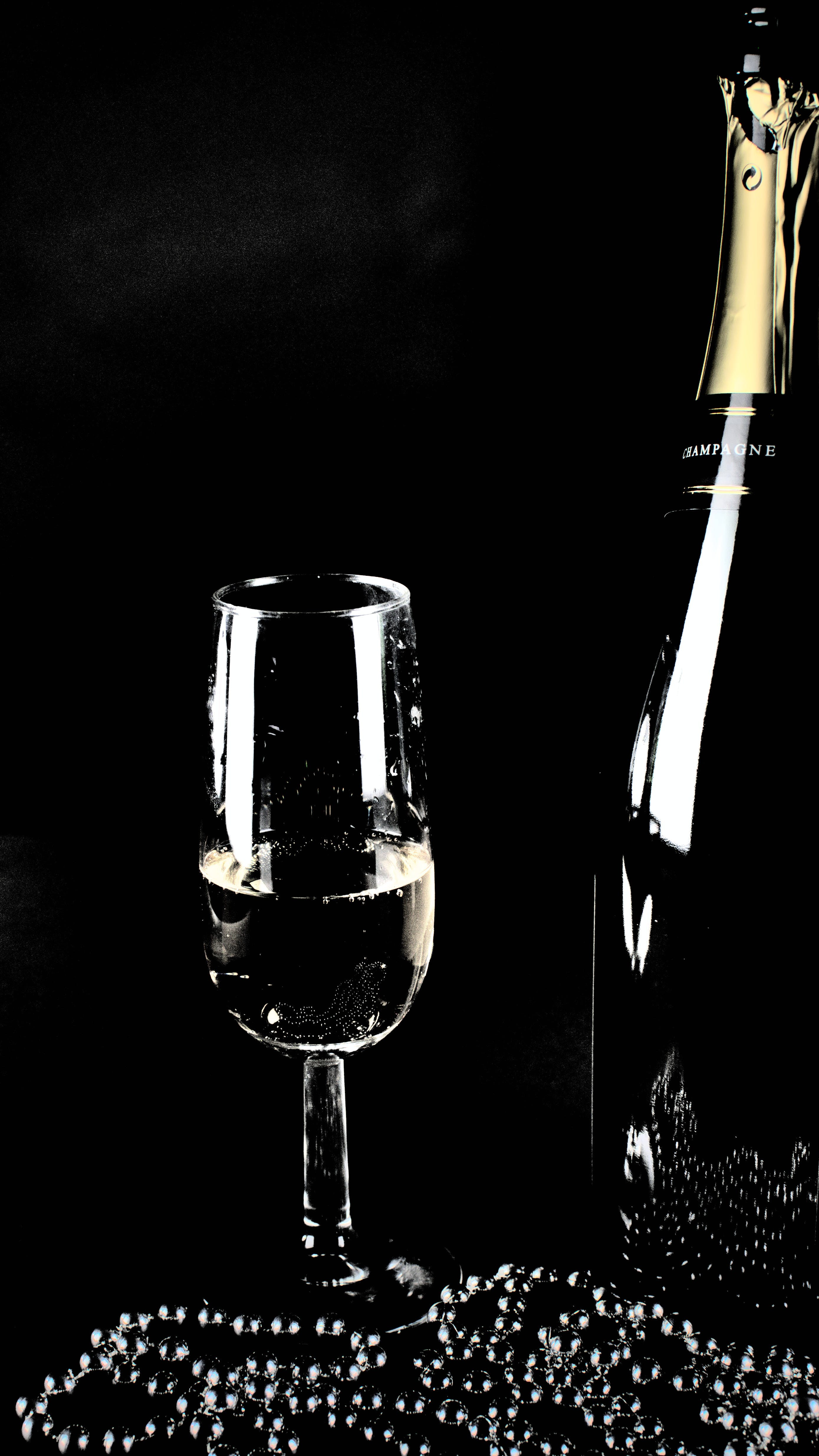 Free stock photo of aperitif, champagne, champagne glass, drink