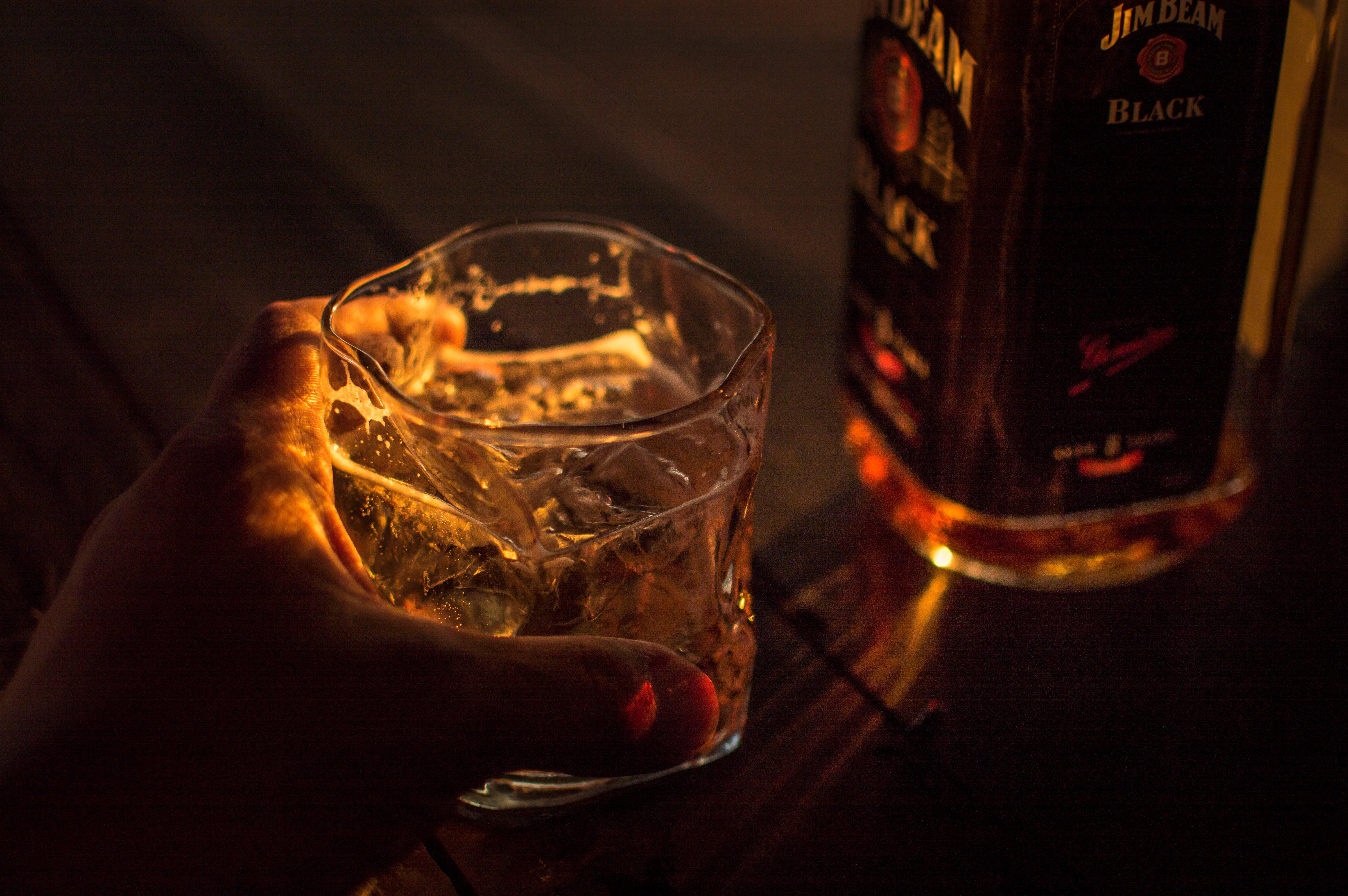 Foto d'estoc gratuïta de bourbon, jim beam, kentucky, recte
