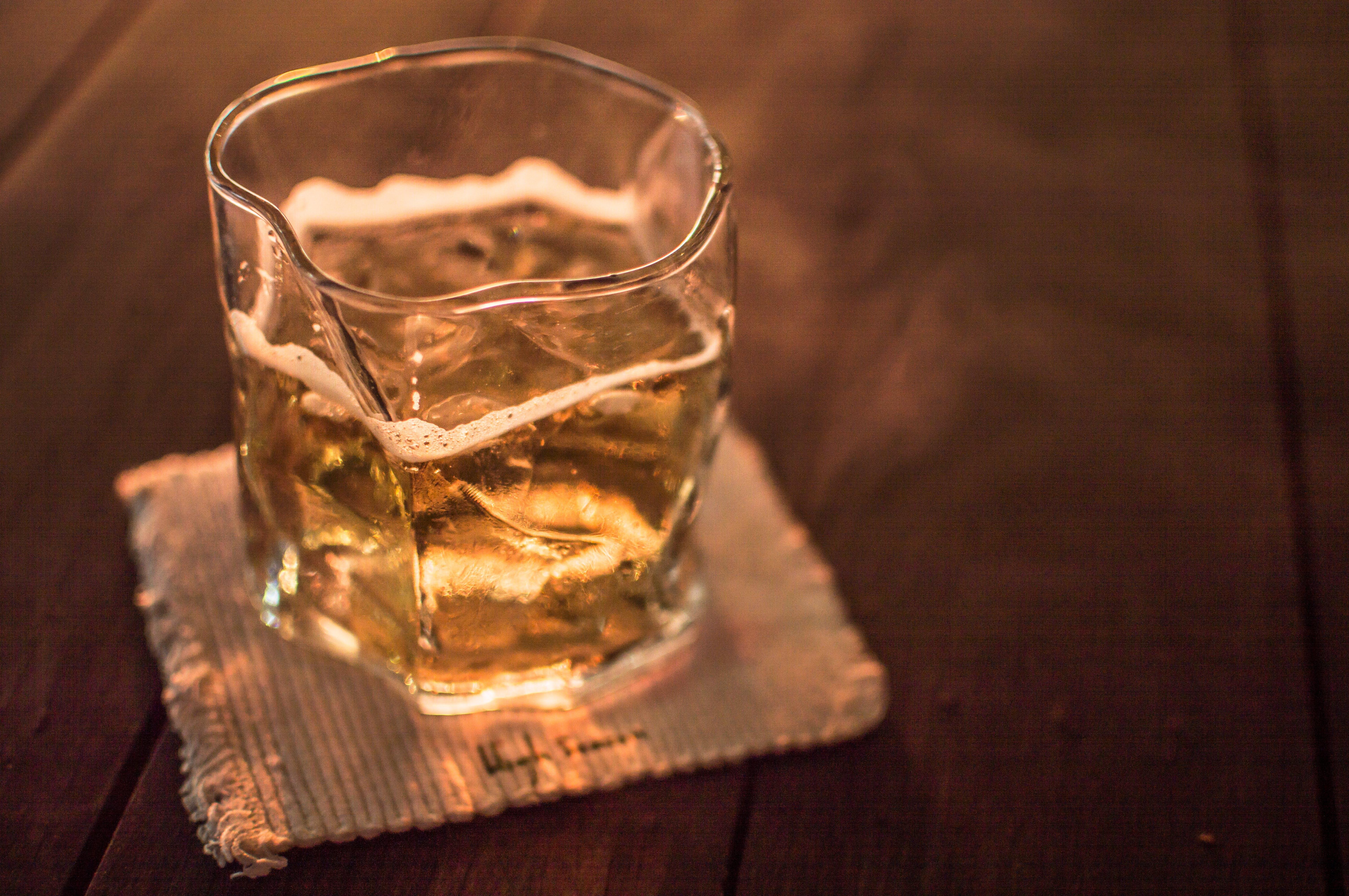 Free stock photo of straight, smoke, whiskey, soda