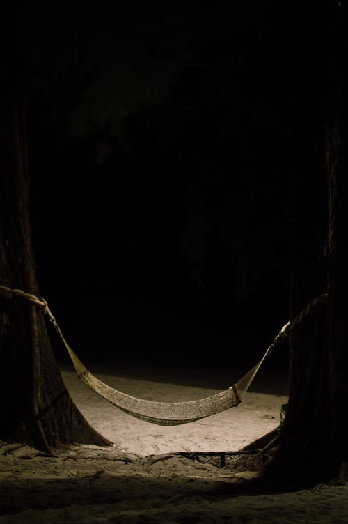 Free stock photo of cot, cradle, midnight