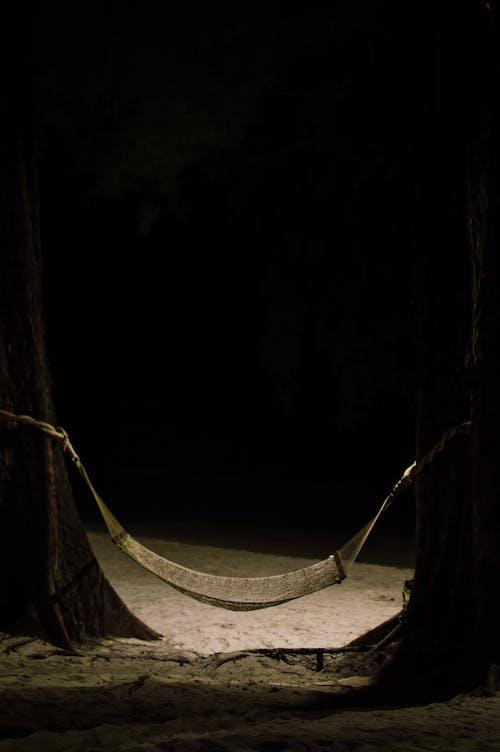 Free stock photo of cot, cradle, midnight, night