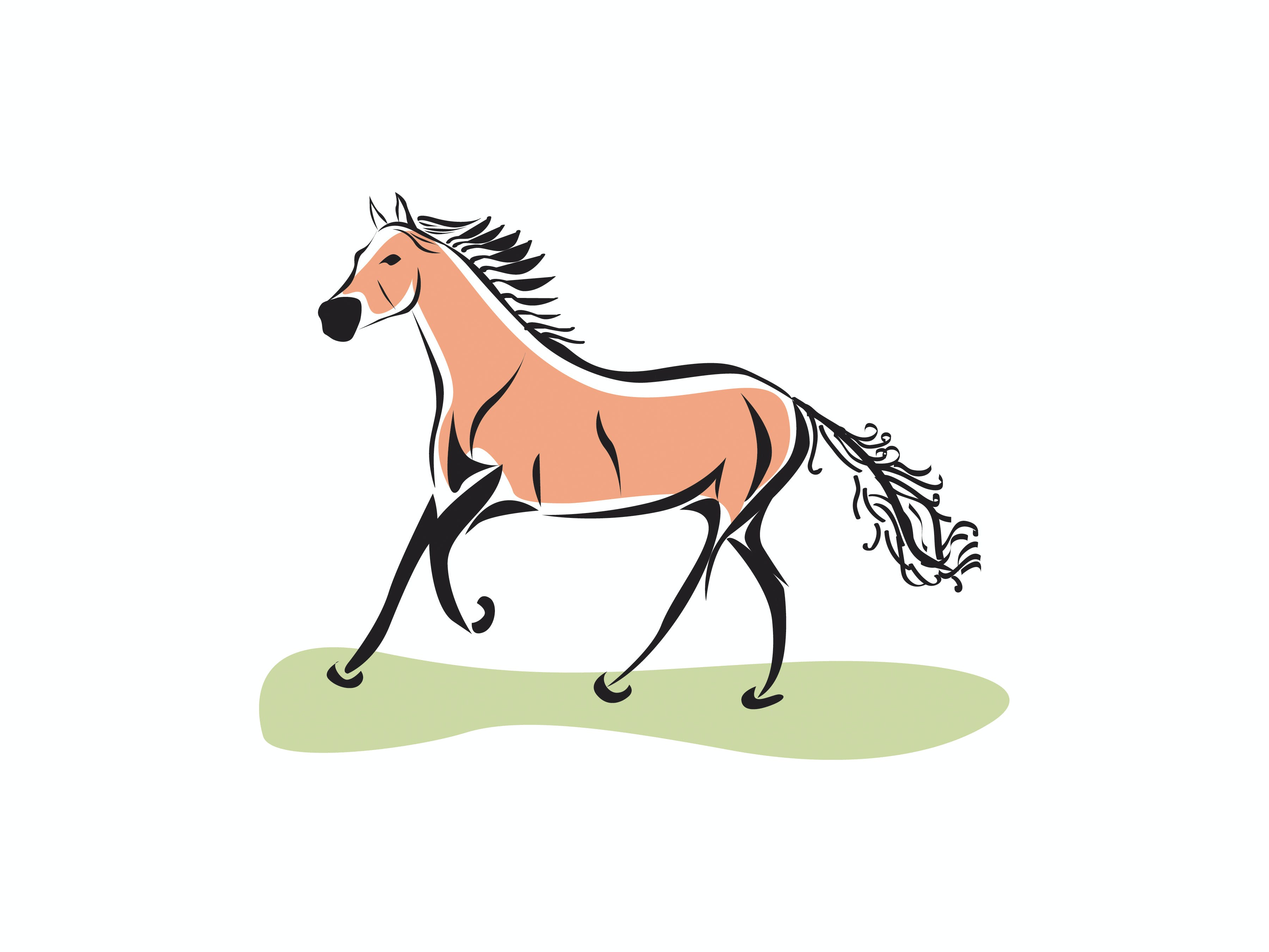 Kostenloses Stock Foto zu pferd abbildung