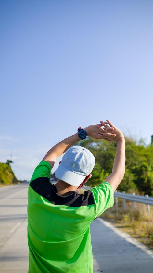 人, 伸展, 健康 的 免費圖庫相片