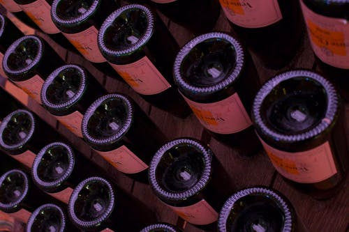 Foto stok gratis botol anggur, kaca, minuman