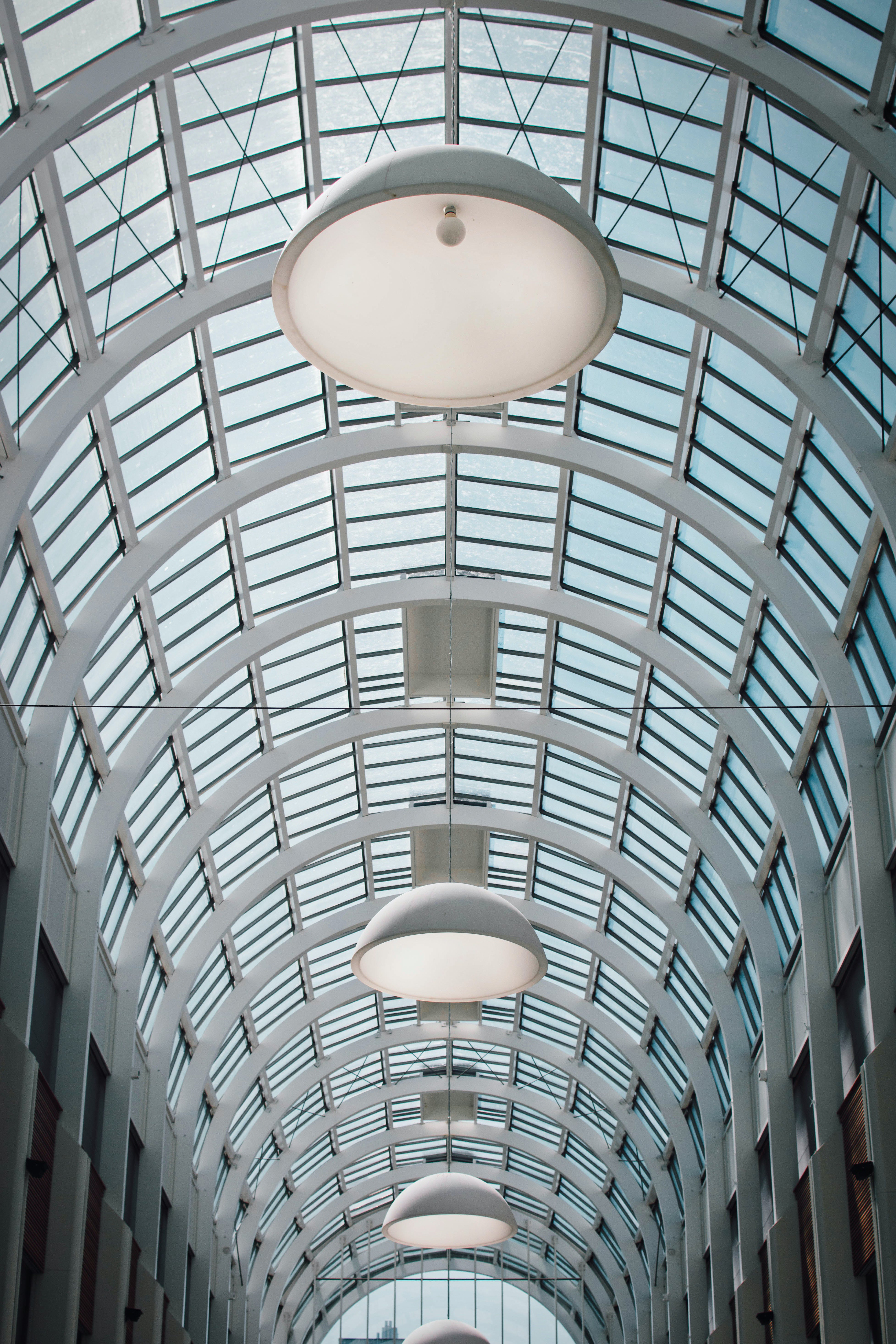 Shallow Focus Photography of Building Ceiling