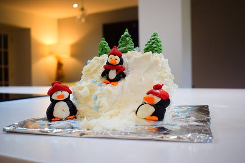 Free stock photo of christmas cake, Homecooking, icing