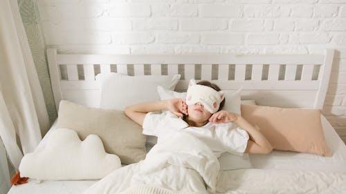 Gratis stockfoto met bedtijd, chillen, high angle shot