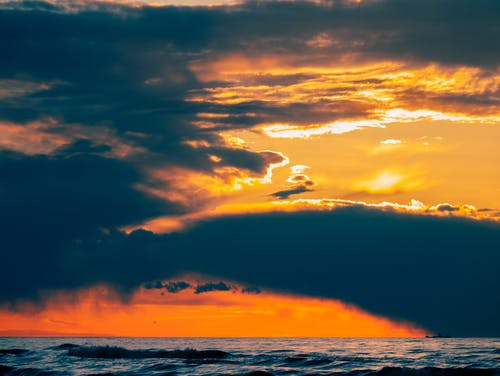Beautiful Scenery of Sunset