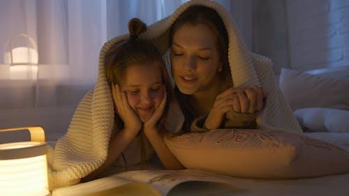 Ingyenes stockfotó # beltér, ágy, anya témában