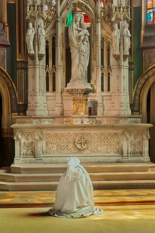 Statues on the Church Altars