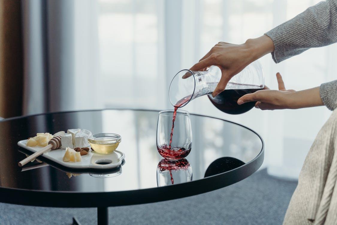 Foto profissional grátis de álcool, alimento, almoço