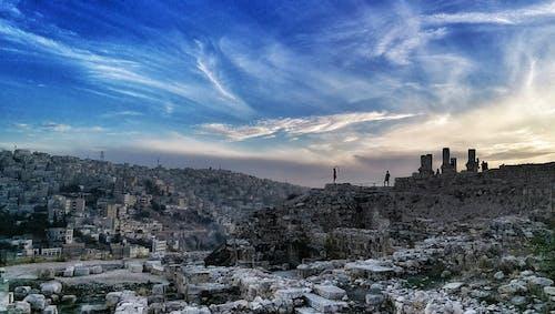 Ilmainen kuvapankkikuva tunnisteilla amman, Jordan, kaupunkimaisema, pilvet