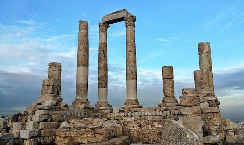Ilmainen kuvapankkikuva tunnisteilla amman, ammanin linnoitus, herculesin temppeli, Jordan