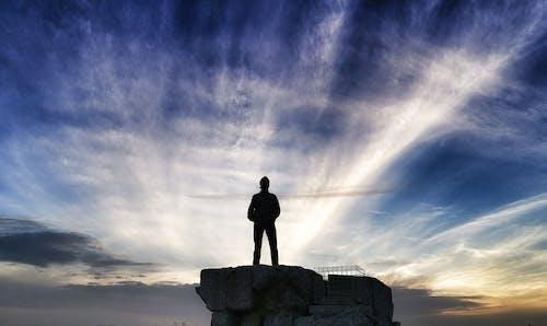 Ilmainen kuvapankkikuva tunnisteilla auringonlasku, johtaja, mies, näkemys