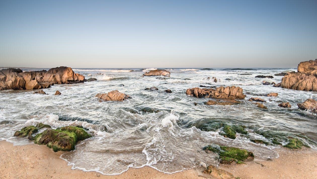 Plajın Doğal Manzarası