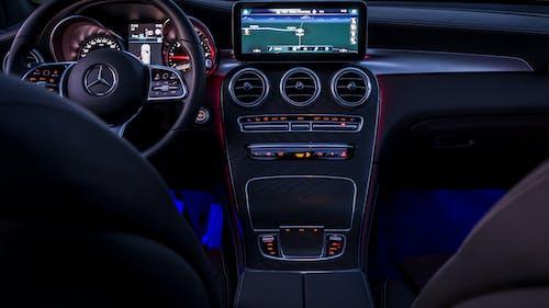 Car Interior of a Modern Car